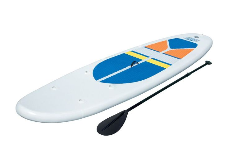 Paddle Gonflable White Cap SUP 305x81x10cm + Pagaie + Pompe + Sac