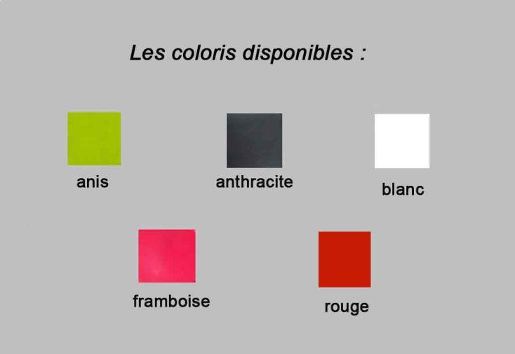 Bac à Fleurs PVC Colors Square S Double Paroi (60/30x60/30x60)