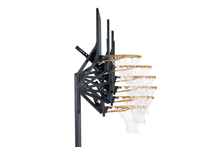 Panier de Basket Ajustable (2,44 à 3,05 m) Front Court 44