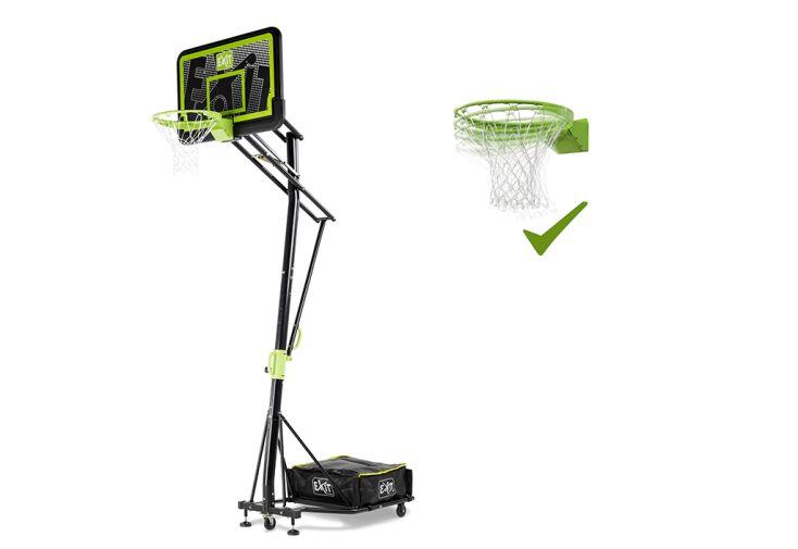 Panier de Basket Mobile avec Roulettes et Anneau Inclinable Exit Toys Galaxy