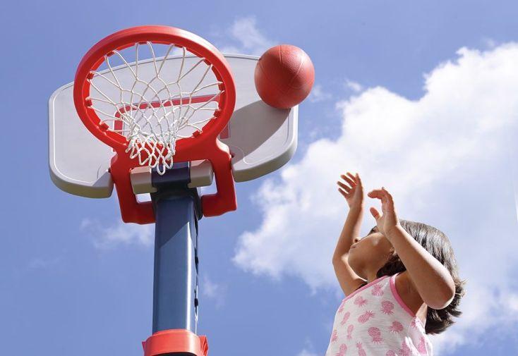Panier de basket r glable pour enfants 183 cm step2 for Panier de basket pour piscine