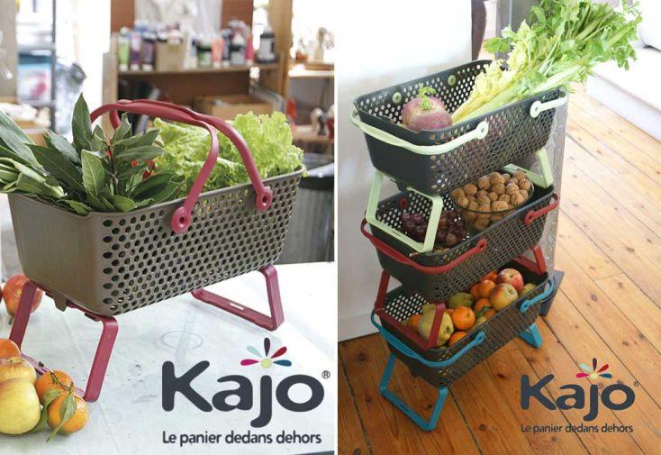 Paniers de Récolte Kajo 48x29x20 (Lot de 3)