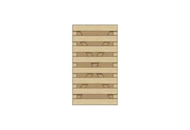 Panneau Bois Droit Traité 1,00 x 1,80 m (l,h)