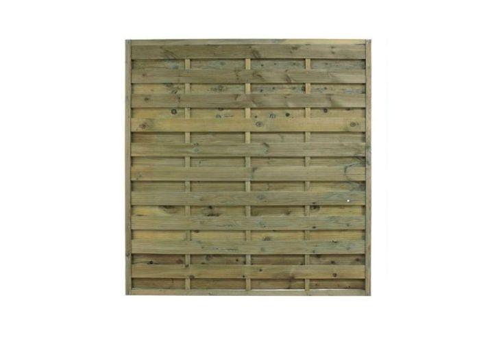 panneau de clôture en bois traité autoclave 180 x 180 cm
