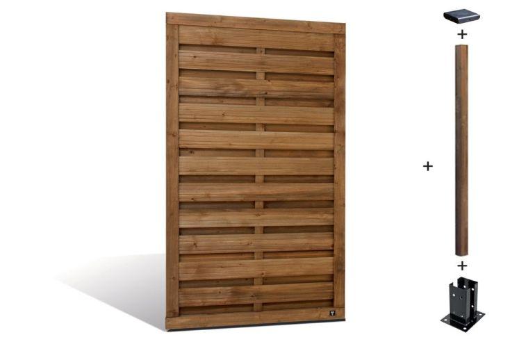 kit panneaux bois selekt droits 90x160 kit panneaux droits selekt 90x160 jardipolys. Black Bedroom Furniture Sets. Home Design Ideas