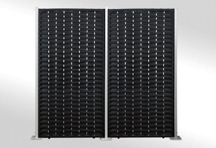 Brise Vue en Résine Tressée Panneaux Larges Bandes (3 ou 4 panneaux)