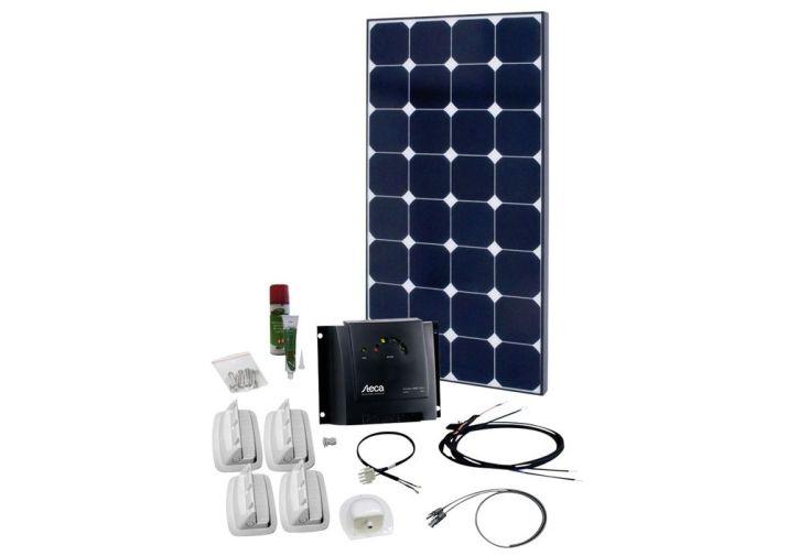 panneau solaire 100Watts à transporter avec régulateur de charge 20A