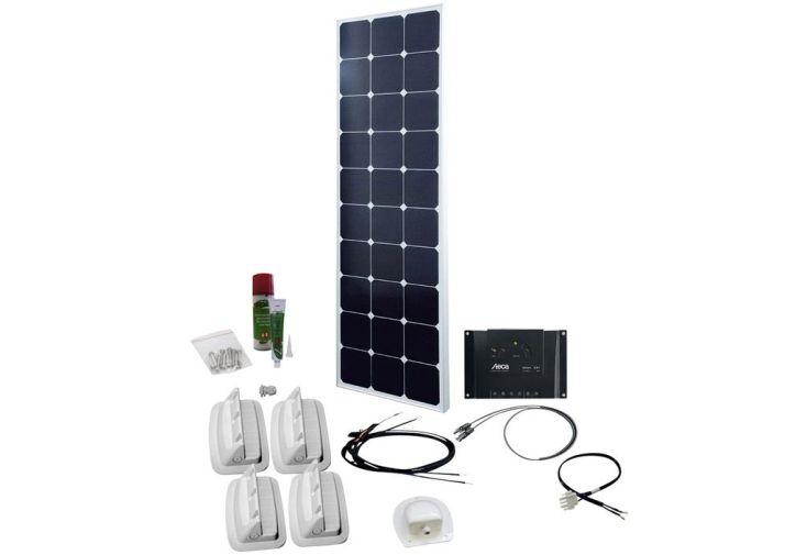 panneau solaire 90 W 12 V avec régulateur de charge