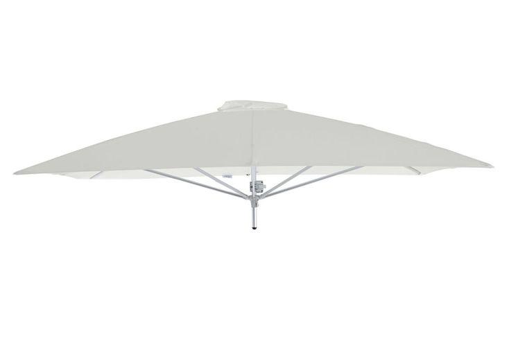 Parasol Carré 230 cm pour Composition Paraflex Toile Solidum