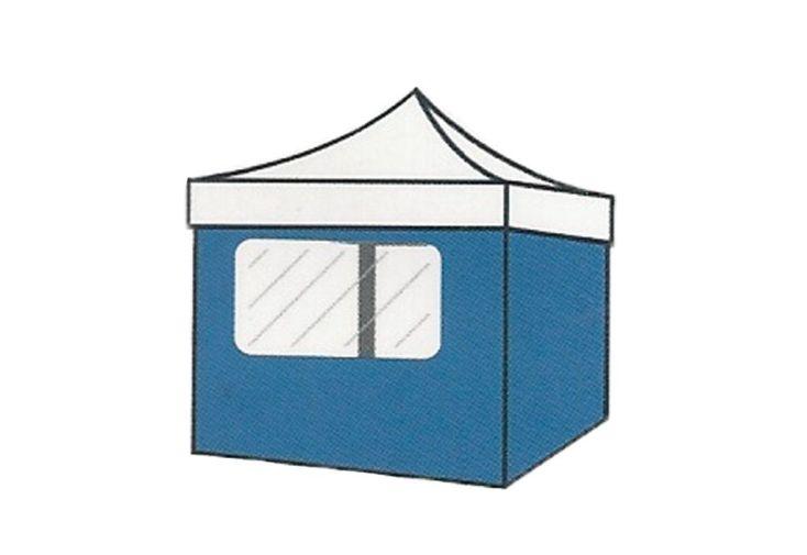 Mur avec Fenêtre pour Tente de Réception Cebu 3x3
