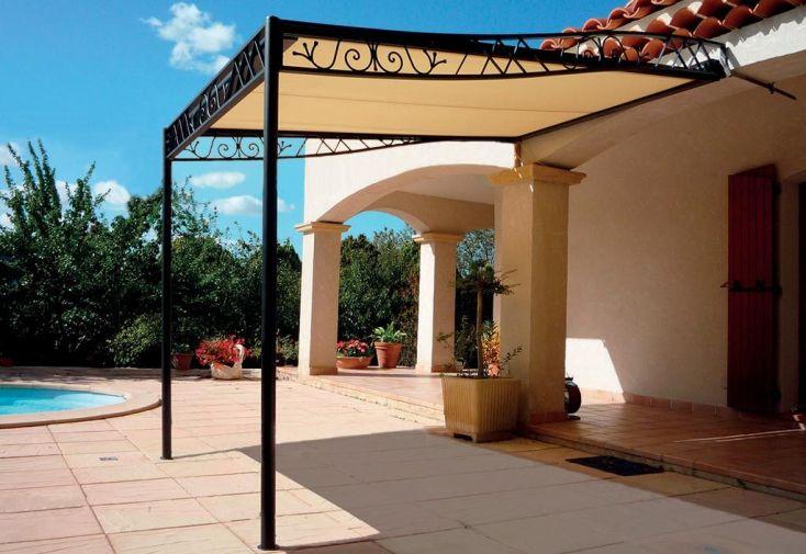 Pergola Rétractable Atrium (avancée 2,5 à 4m - largeur 2,06 à 4,06m)