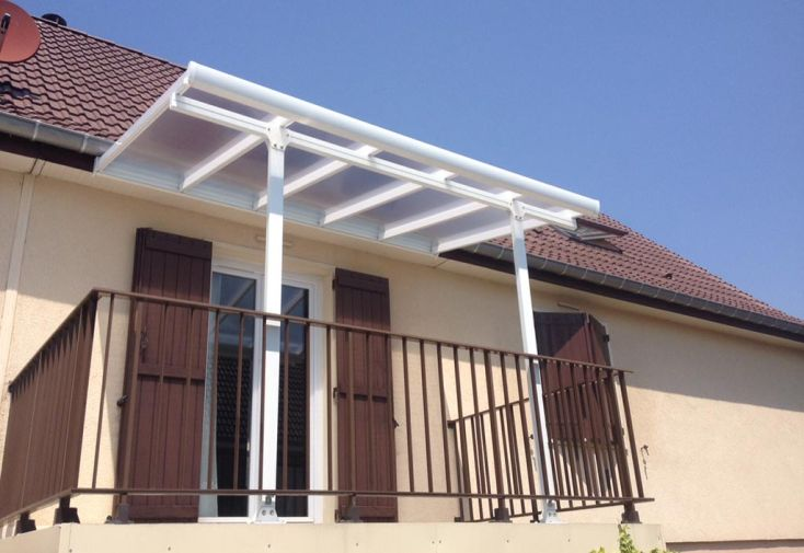 Pergola Aluminium Patio Blanche (230x200)