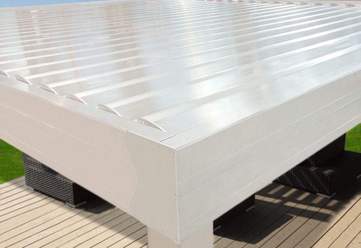 Pergola Bioclimatique Aluminium 4x4,11m
