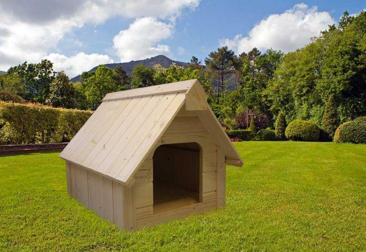Niche à chien en Bois 74x95x69cm