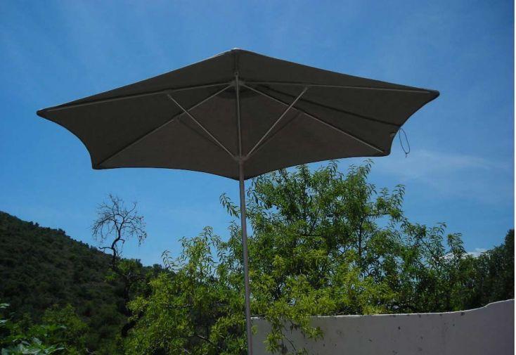 Parasol Basic Hexa 270 Premium Taupe