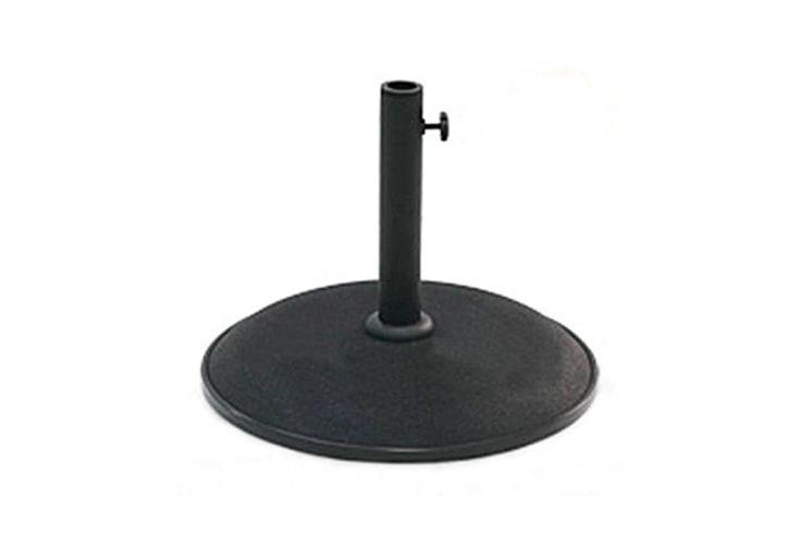 Pied de Parasol Noir 15kg