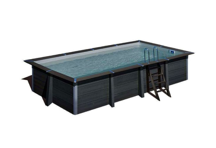 Piscine hors-sol en composite piscine de jardin Just Aposé Barfleur