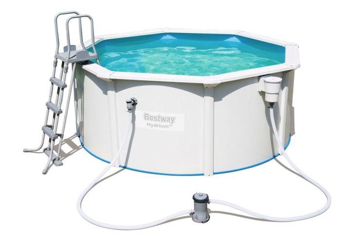 piscine hors sol ronde en acier Hydrium 300 x 120 cm - 7630 litres