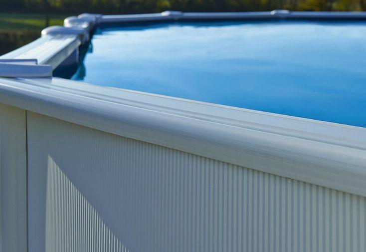 Piscine en Métal Hors-Sol Ovale Saphir 515x390cm + Accessoires