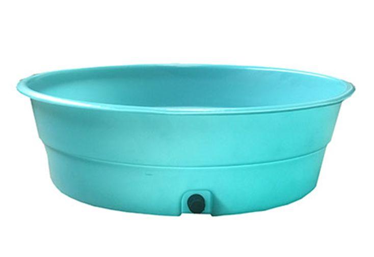 pataugeoire pour bébé 14 kg 130 cm de diamètre plastique 100% recyclable