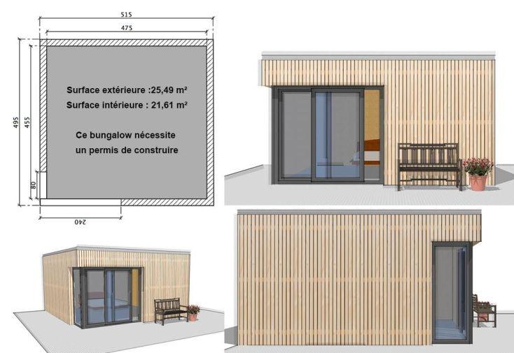 Bungalow Design Studio avec Baie dans l'Angle (515x495)
