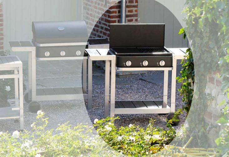 Barbecue Gaz Australien First 3 brûleurs + Chariot