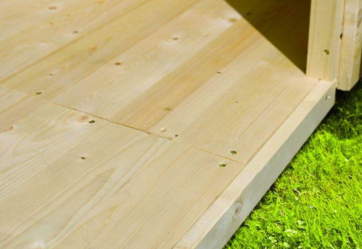 Plancher en Bois pour Abri de Jardin Karibu Espelo 7