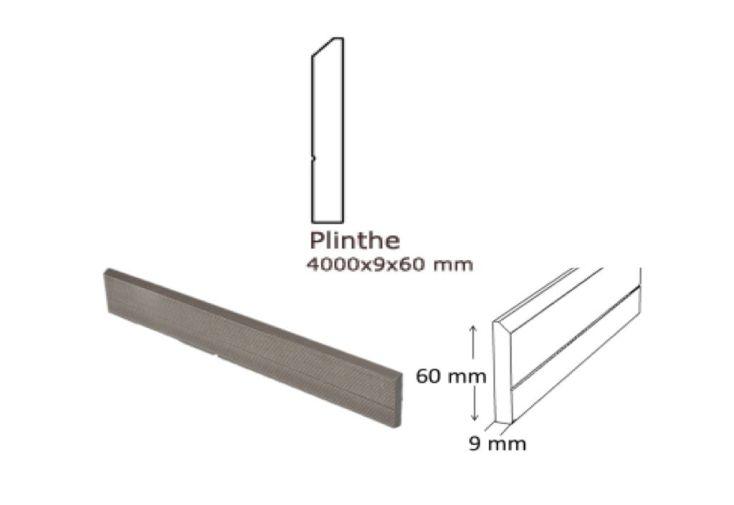 Plinthe pour Terrasse Composite (220x6)