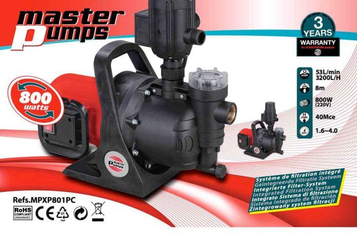 Pompe Arrosage Surface 800 w - 3200 l/h