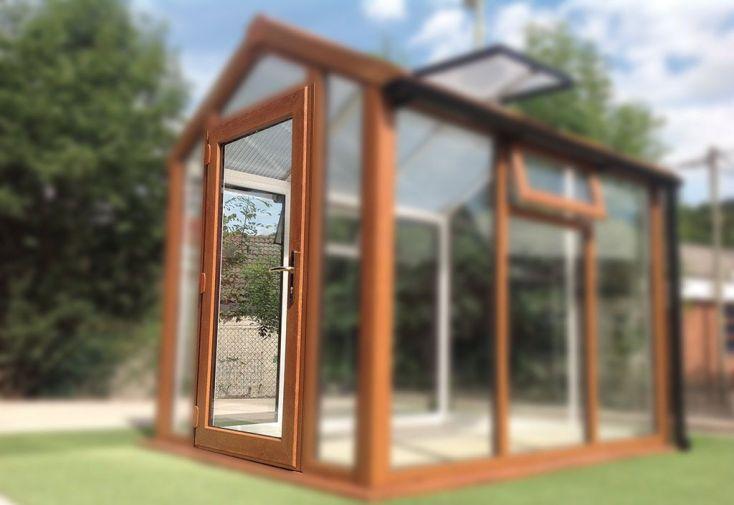 Porte Simple pour Jardin d'Hiver ACD