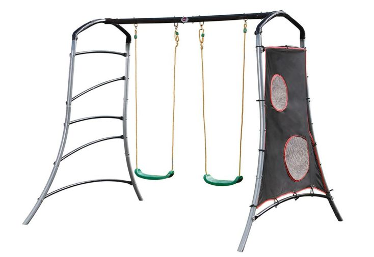 Portique Balançoire Métal Swing Set Eris