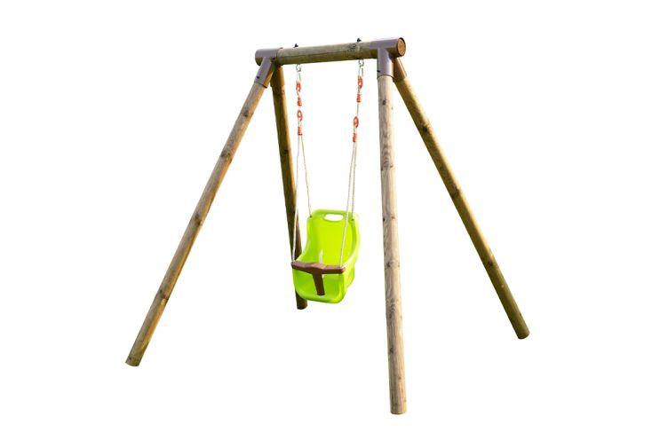 Portique pour bébé en bois traité autoclave