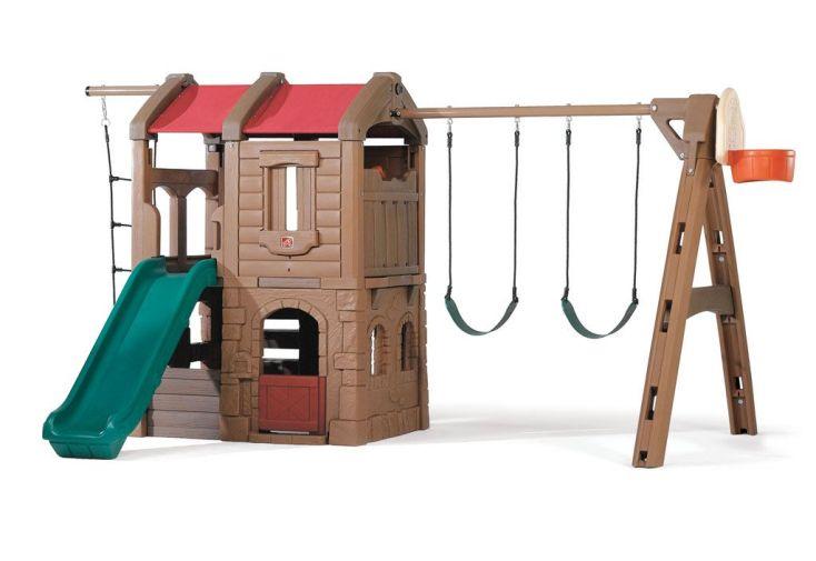 Portique Aire de Jeux Playcastle