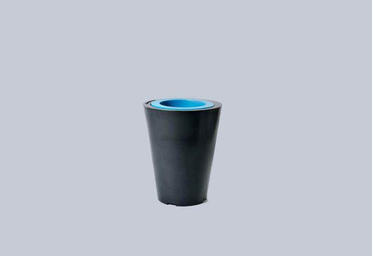 Bac à Fleurs PVC Little Up avec Anneau (Ø40/26x50)
