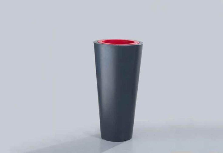 Bac à Fleurs PVC Colors Up M Double Paroi (Ø50/33x100)