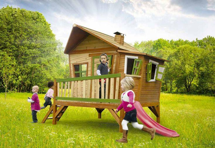 Maison Enfant Bois Emma + Table de Pique-NiqueZidZed