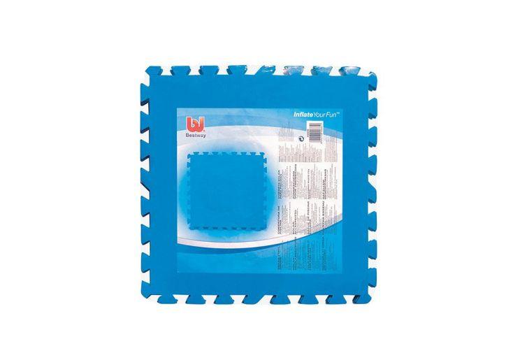 Lot de 8 Tapis de Protection 50x50cm pour Piscines
