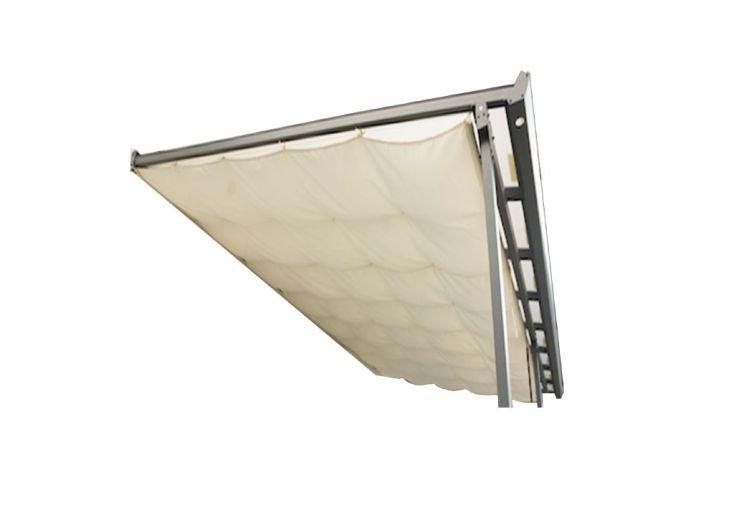 Toile d'ombrage pour pergola en aluminium Habrita