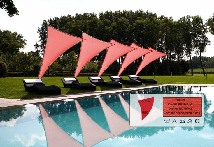 Parasol Rimbou Venus Premium Red