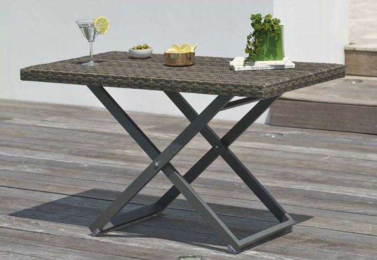 Salon de Jardin Modulo: 1 Canapé + 2 Fts + 1 Table Basse