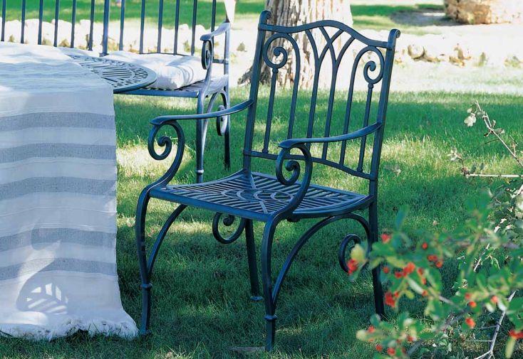 Salon de Jardin en Aluminium Sahara : 1 Table + 4 Fauteuils