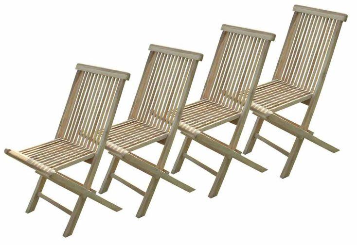 Salon de Jardin Bois Teck Table Extensible Rectangulaire 230 cm + 8 chaises