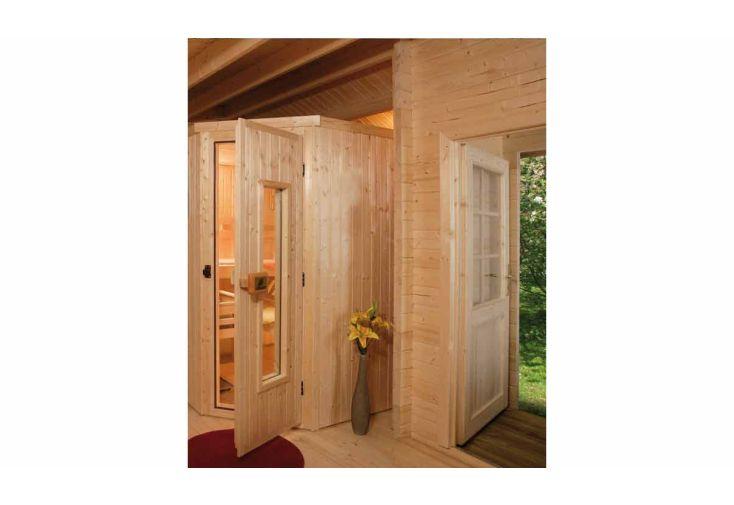 Sauna d'Extérieur Pokka (Abri+Sauna+Poêle)