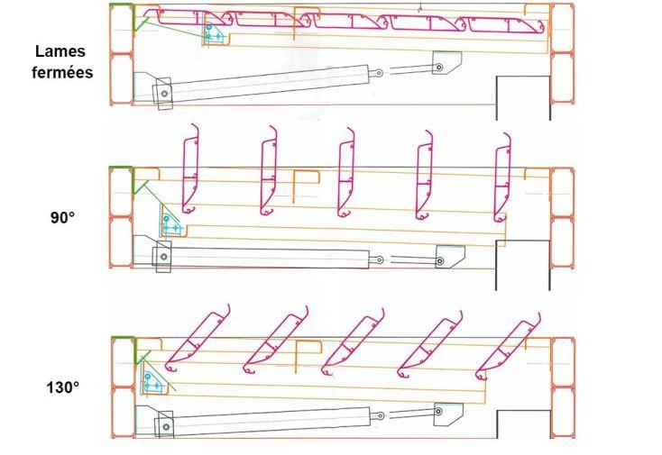 Pergola bioclimatique en aluminium l 3 01 3 5m x a 2 41 6m pergol - Pergola bioclimatique en kit ...