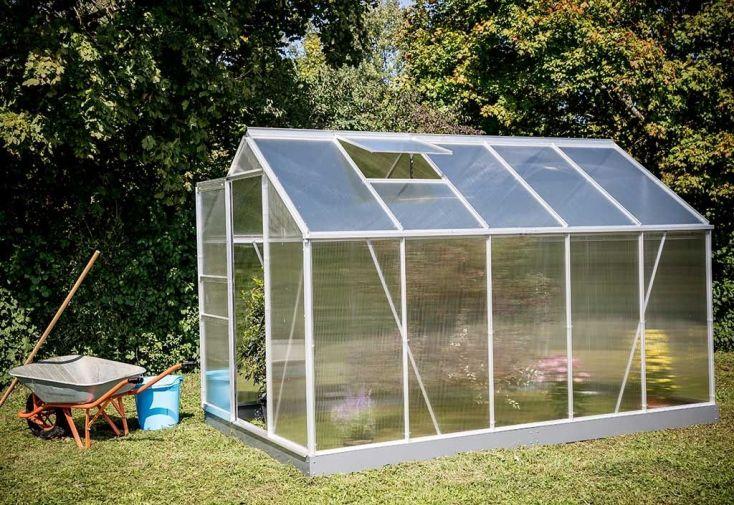 Serre de jardin polycarbonate 192x314
