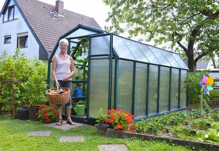 serre de jardin en polycarbonate mon am nagement jardin. Black Bedroom Furniture Sets. Home Design Ideas