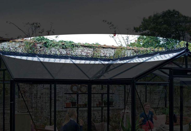 Faitière pour serre de jardin orangerie ACD 15,40 m²