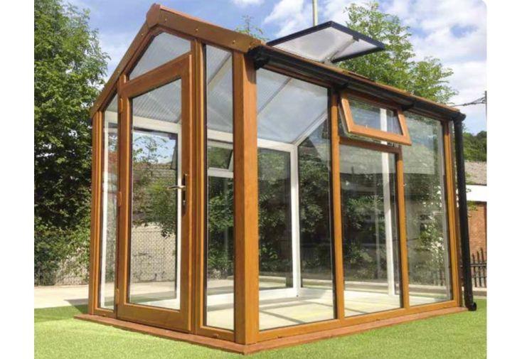 Jardin d'Hiver Iona en PVC-U et Double Vitrage 5,20 m²