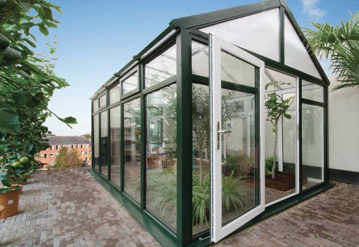 Jardin d'Hiver Madeira en PVC-U et Double Vitrage 19,09 m²