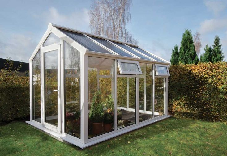 Jardin d'Hiver Torsa en PVC-U et Double Vitrage 8,84 m²